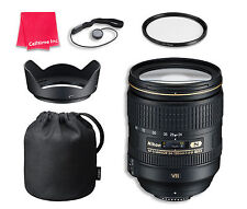 Nikon AF-S NIKKOR 24-120mm f/4G ED VR Lens Bundle for Nikon DSLR Cameras
