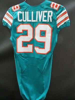 CHRIS CULLIVER MIAMI DOLPHINS GAME USED