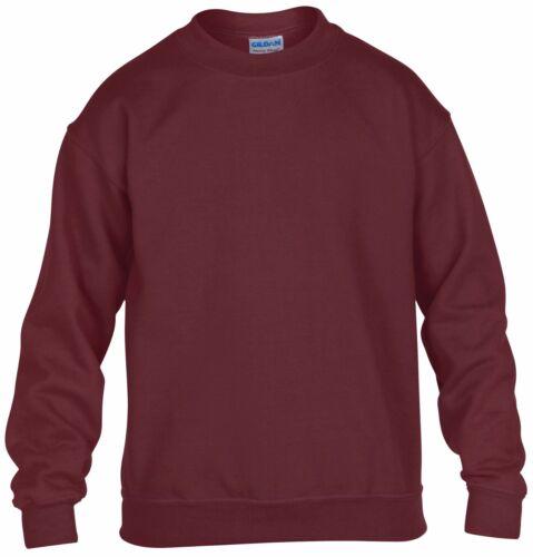 Children/'s Heavy Blend™ Youth Crew Neck Sweatshirt Jersey Sweater Kids Sweat TOP