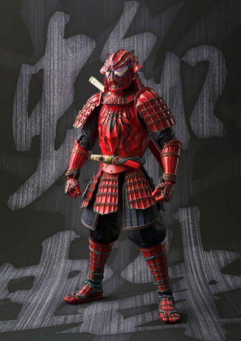 Marvelsamurai  spider - man meisho manga.action - figur
