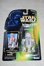 1996 Kenner Star Wars POTF2 R5-D4 Green Card w/ Warning & L Latch SC-06