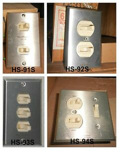 Nutone Heat Vent Light Switch Hs 91s Hs 92s Hs 93s Or