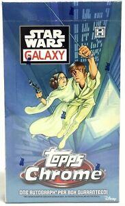 Star Wars Chrome Galaxy Hobby Box Topps 2021