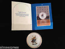 "1981 ""Angelic Procession""Schmid Berta Hummel-Inspired Christmas Collector Plate"