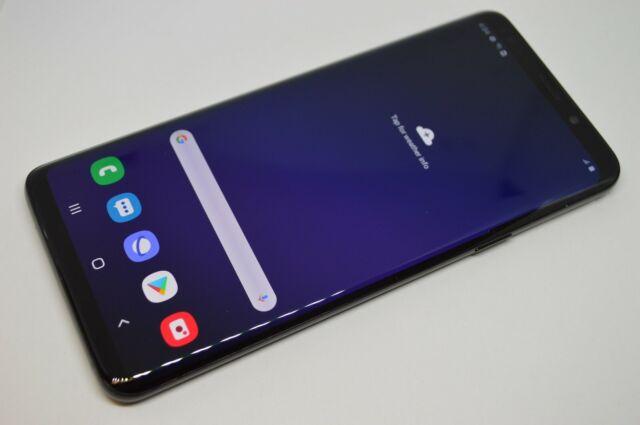 Samsung Galaxy S9+ SM-G965U 64GB Black Unlocked GSM AT&T T-MOBILE VERIZON #L445