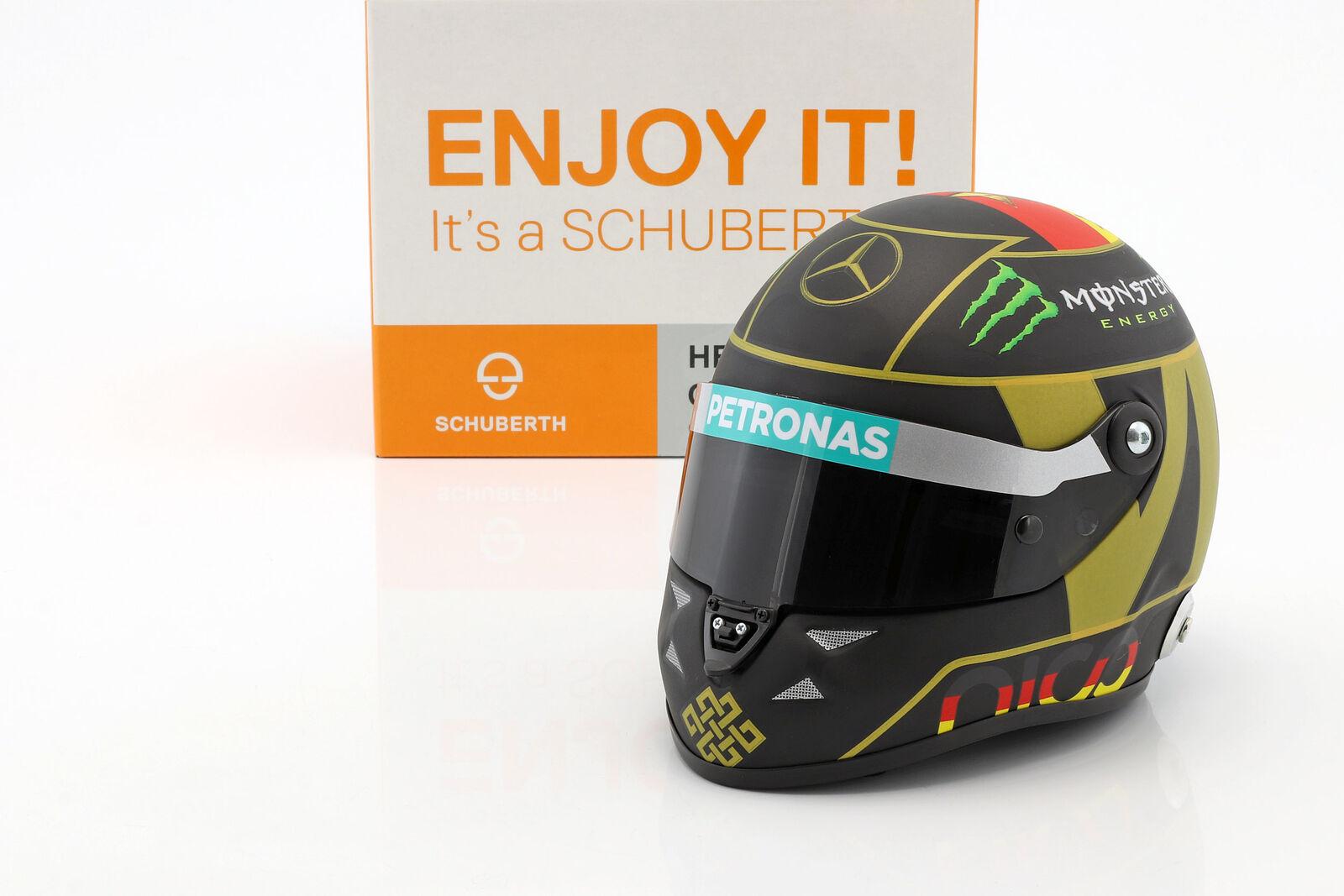 N. Rosberg Mercedes  f1 w05 Formule 1 2014 casque 4. étoile PM Edt. 1 2 Schuberth  Style classique