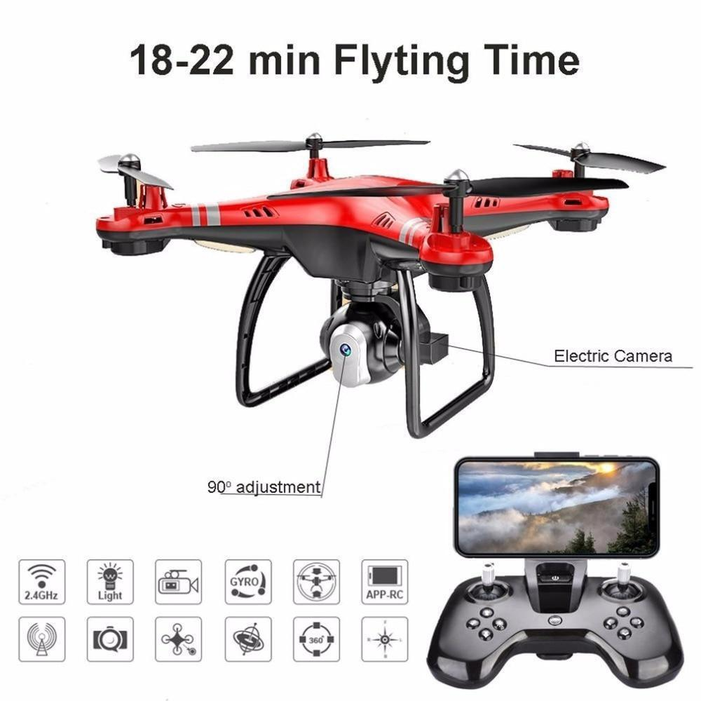 X8 RC Drone with HD 3MP Camera Altitude Hold One Key Return Landing Take Off Hea