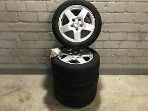 Satz-Alufelgen-MIT-Winterreifen-Mercedes-benz-A-klasse-Aluett-43655-Michelin