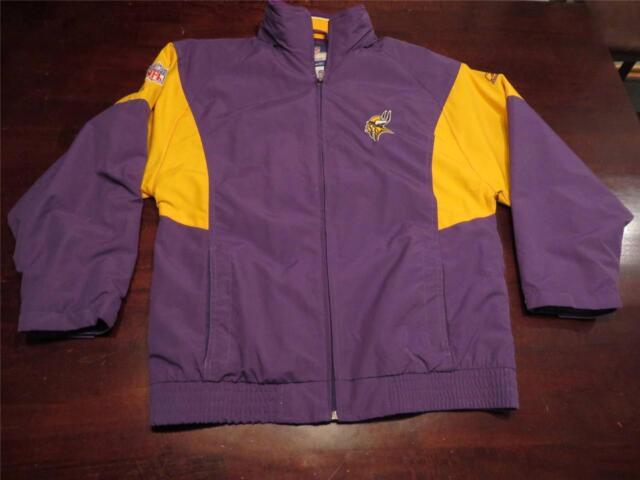 low priced 77266 abfa0 Reebok Youth Minnesota Vikings Jacket Large (14-16)