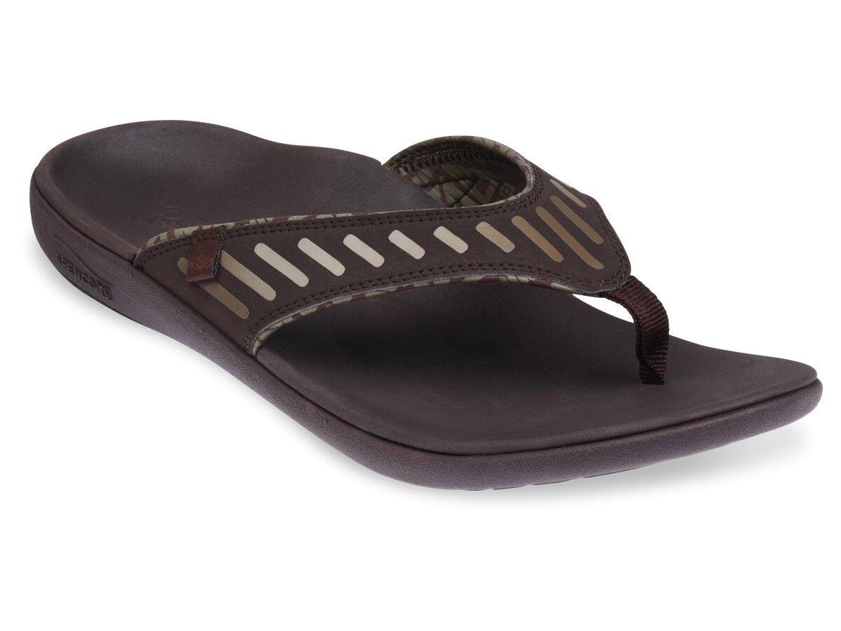 Spenco Tribal - Men's Supportive Sandal Bean - 10