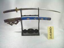 Boford Mononofu 6 1/6 scale Mikazuki Munechika Samurai Sword diecast metal NEW