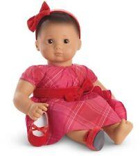 American Girl Bitty Baby or Twins Tartan Taffeta Dress New In A Box