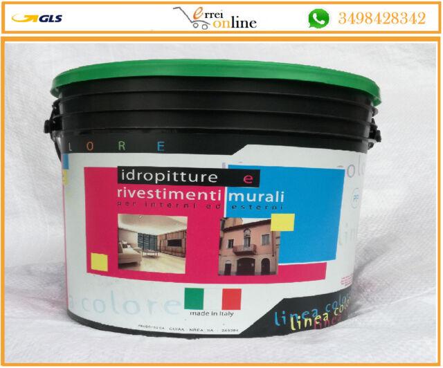 Pittura Lavabile Per Interni Sikkens.Idropittura Pittura Lavabile Lt 4 Bianco Per Interni