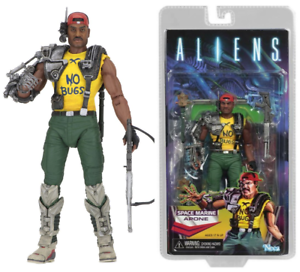 Apone Action Figure Neca Aliens Space Marine Sgt