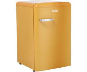 Retro Kühlschrank Gelb : Amica ks y kühlschrank retro design freistehend cm gelb