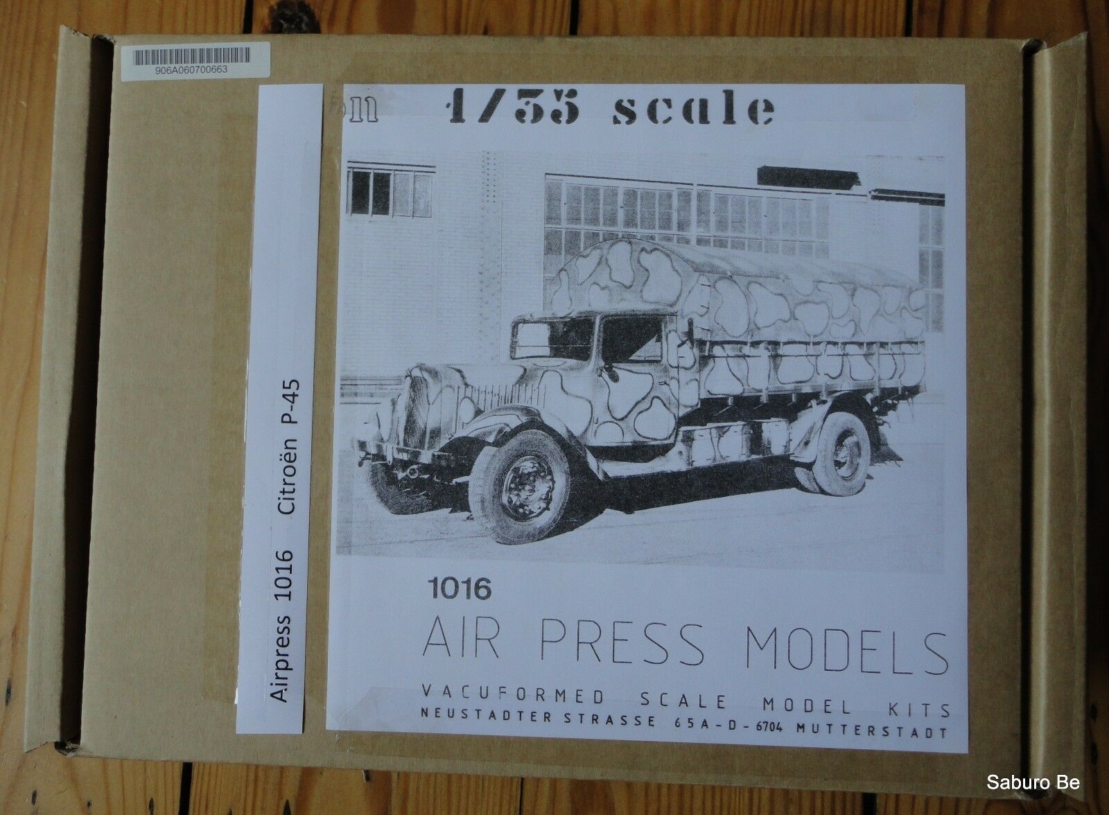 AIR PRESS MODELS 1 35 CITROEN P-45 1016  VACU