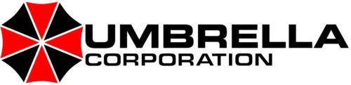 deux 2x Autocollant Vinyle Autocollant Voiture Van Ordinateur Portable Resident Evil Umbrella Corporation