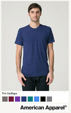 American Apparel TriBlend T-Shirt TR 401 ★ NEW ★ Sweatshop Free ★ made in USA