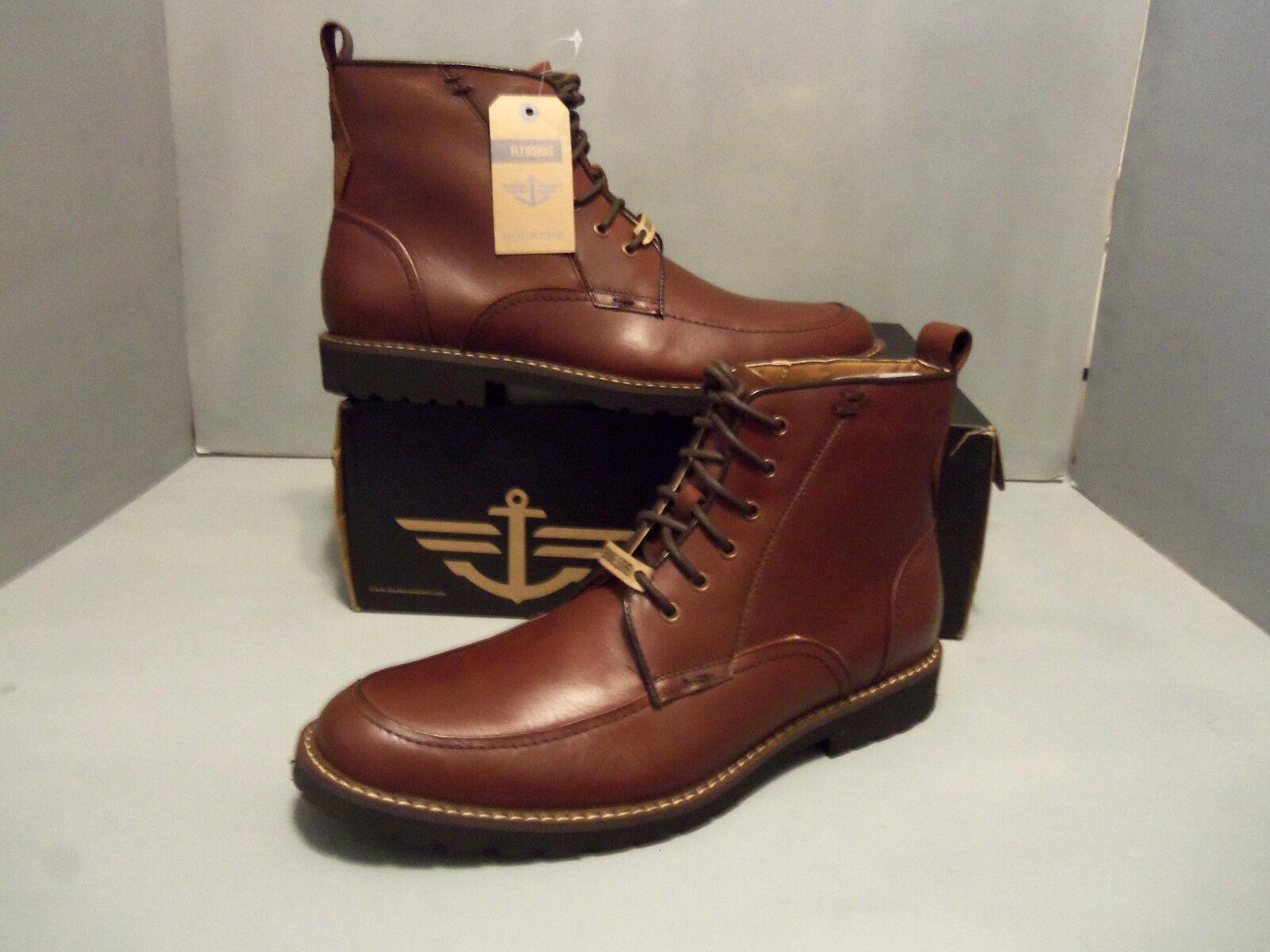 Dockers Mens Brown Hi Boots Mercer Hartford Leather  Sizes  Handsome   style 3