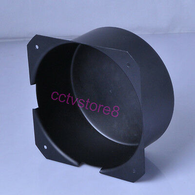 1p 150x75mm Black Metal Shield box Toroid Transformer Cover Protect Chassis case