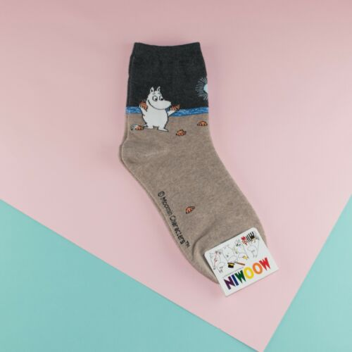 Moomin Valley Character Novelty Cartoon Cute Socks Womens