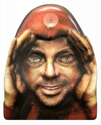 Lurking Peeping Thug Robber Zombie Halloween Window Prop Poster Decoration