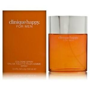 Happy-Cologne-by-Clinique-3-3-3-4-oz-100-ml-Cologne-Spray-New-In-Box
