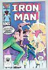 Iron Man #210 September 1986 FN- Spymaster