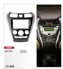 CARAV 11-428 Fascia plate frame Install dash Kit for Hyundai EON double DIN