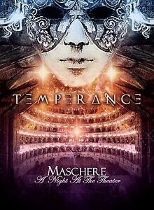 TEMPERANCE-Maschere-A-Night-At-The-Theater-DVD-CD-DIGIPACK