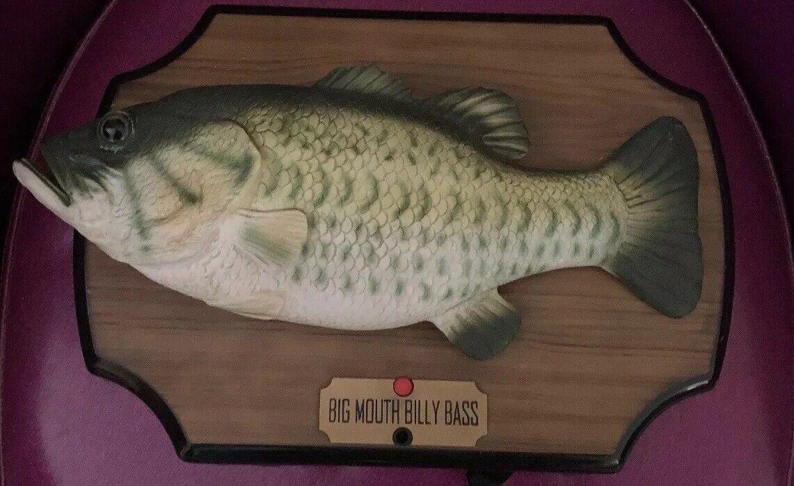 Billy Bass, pop, pop, pop, pop, Fish, 1999. 4f1