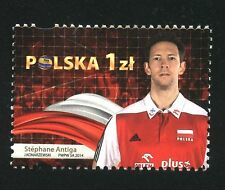 ** MNH stamp VOLLEYBALL WC - Stephane Antiga French volleyball player and coach