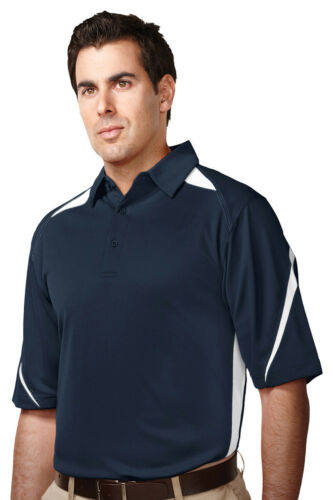 Tri-Mountain Men/'s New Big And Tall Short Sleeve Polyester Polo Shirt K119-Tall