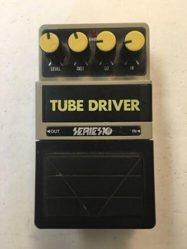 Series 10 Tube Driver Overdrive Rare Vintage Guitar Effect Pedal MIJ Japan