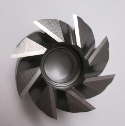 "8/% Premium Cobalt Shell End Mill 2-1//2/"" Diameter"