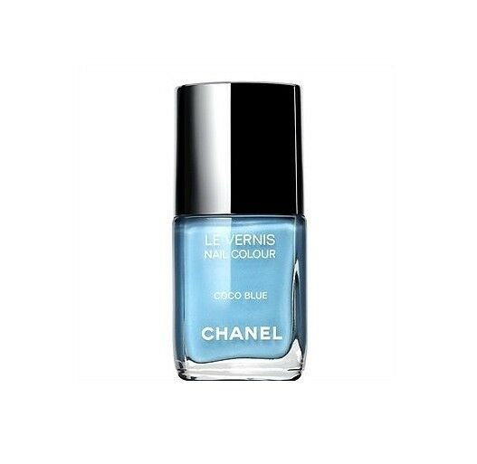 Auth Chanel Coco Blue Nail Polish Les Jeans de Chanel Fashion's Night Limited ed