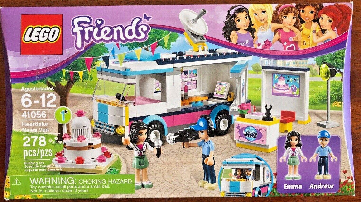 NEW NEW NEW LEGO Friends Heartlake News Van - 41056 - NIB    002ce6