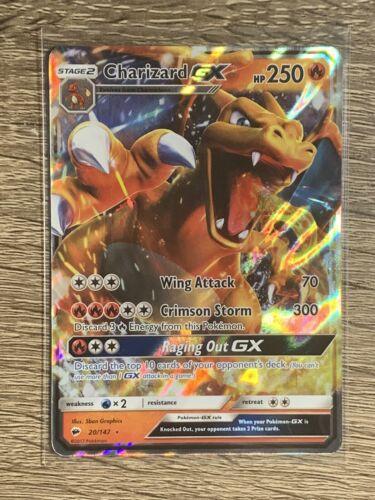 Charizard GX 20/147 Holo Ultra Rare Pokemon Burning Shadows