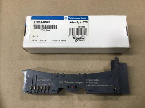 SCHNEIDER TELEMECANIQUE STBXBA2200 Advantys STB PDM Base #24H60BDD