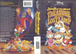 Details About Vhs Walt Disney S Duck Tales The Movie Treasure Of The Lost Lamp