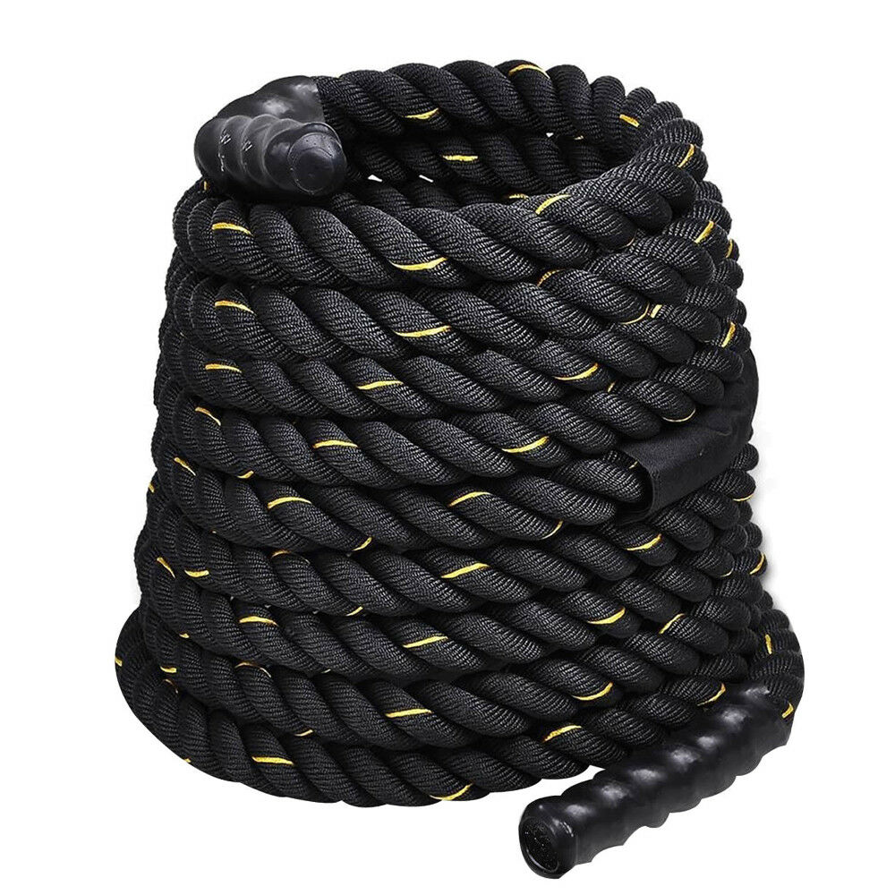 Battle Rope 40Ftx 2 inch Intensity Exercises Strength Training