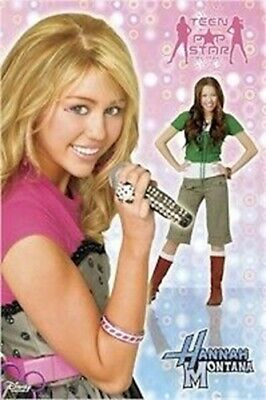 Tv Poster Hannah Montana Miley Cyrus Teen By Day Ebay