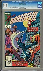 Daredevil-201-CGC-9-8-White-Pages-Black-Widow-app-John-Byrne