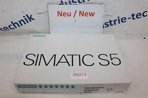 Siemens-Simatic-S5-6ES5-430-7LA12-E-Stand-12-Module-Scelle