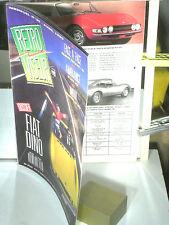 REVUE RETRO VISEUR 04 1990/FIAT DINO SPIDER/coupé/CHAR MILITAIRE RENAULT 1918/