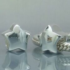 STAR SKY Genuine 925 Sterling Silver Charm Bead Fits European Bracelet