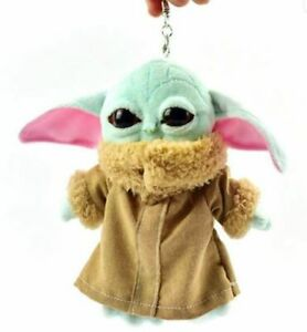 NEW-Baby-Yoda-Plush-Keychain-6-inches