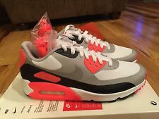 NIKE NIKELAB AIR MAX 90 V SP PATCH WHITE GREY INFRARED (746682 106) SIZE 6.5