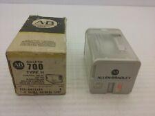 Allen Bradley 700ha33a24 Relay Tube Base 11 Pin Onoff Indicator Series A Nib