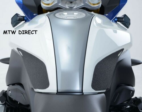R/&G RACING BLACK TANK TRACTION PADS for  BMW R1200RS 2016